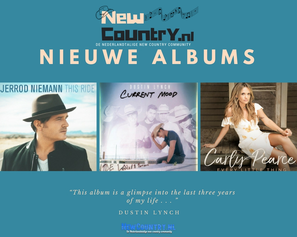 Nieuwe Country Albums