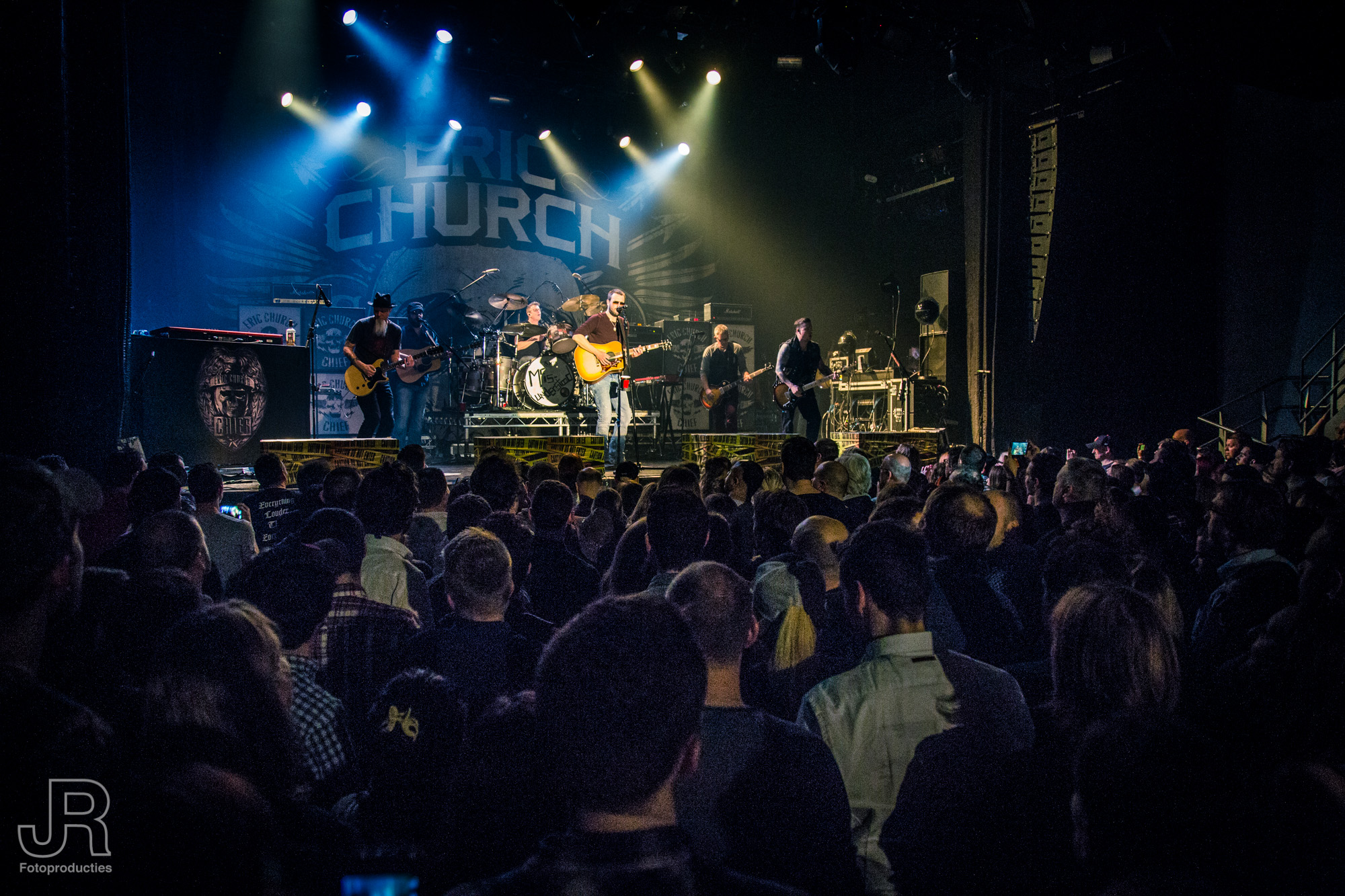 Eric Church Melkweg 8-3-2016