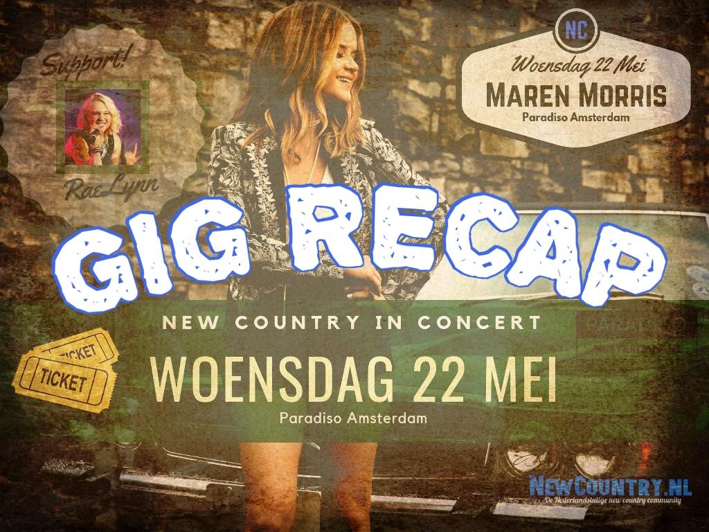 Country Gig Recap: RaeLynn en Maren Morris in Paradiso