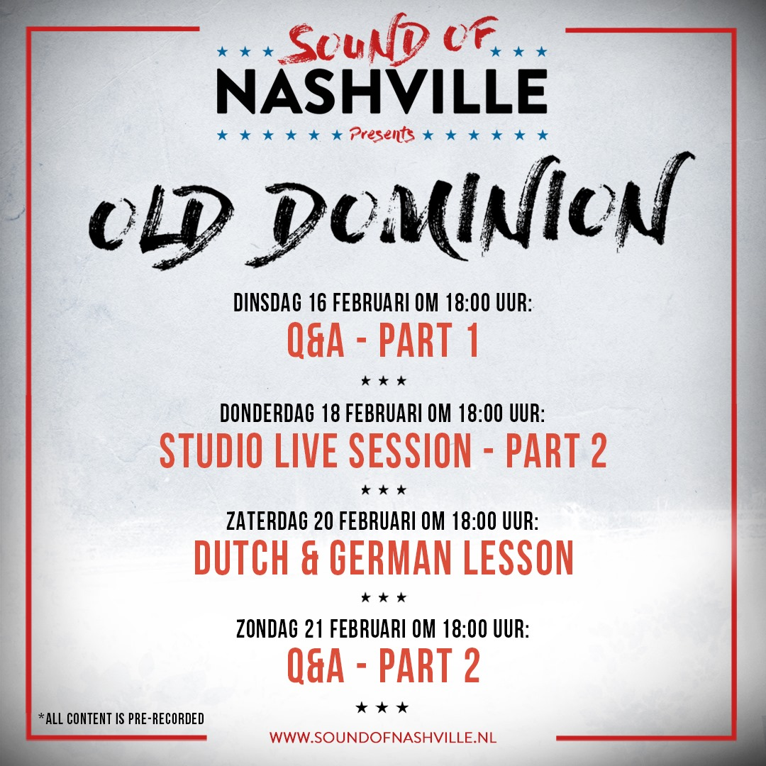 Old Dominion sound of nashville