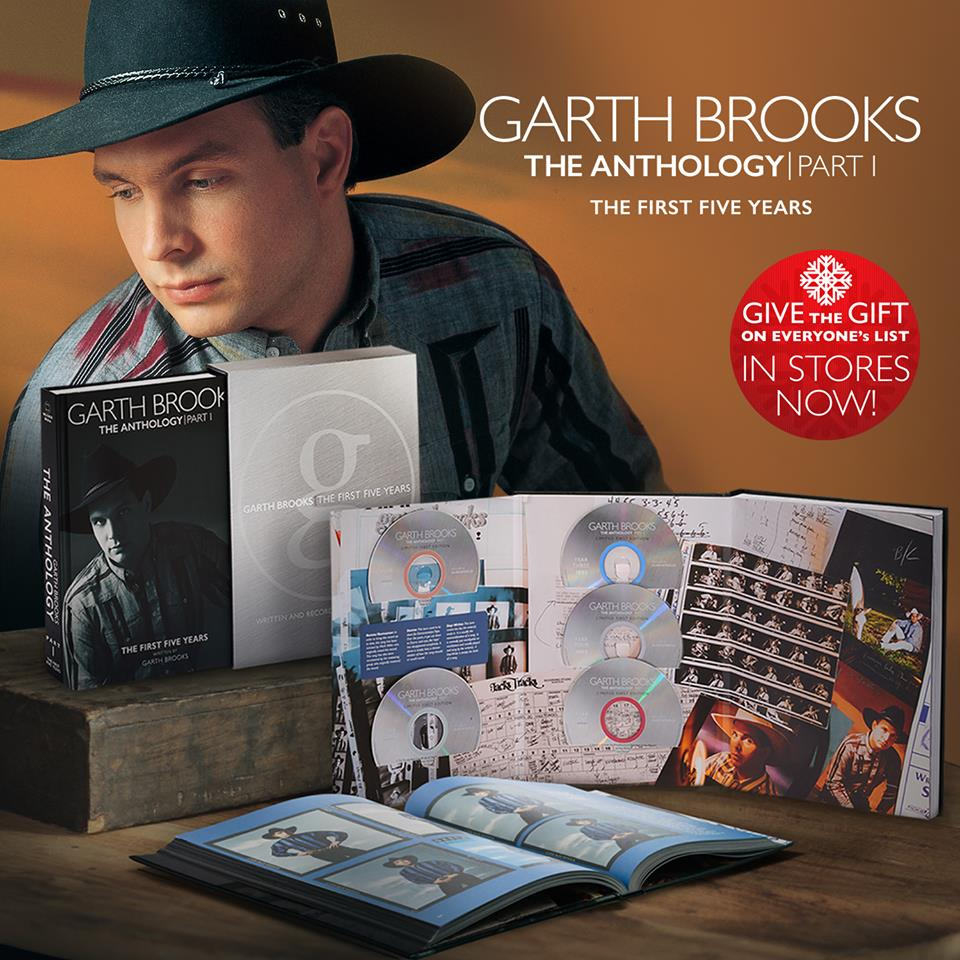 Garth Brooks 'The Anthology' is een familie project