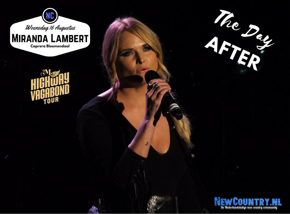 Miranda Lambert .. Caprera Openluchttheater ...The Day After
