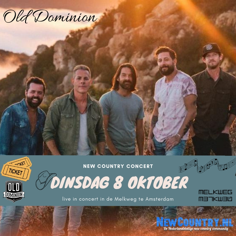 Old Dominion Melkweg Nederland