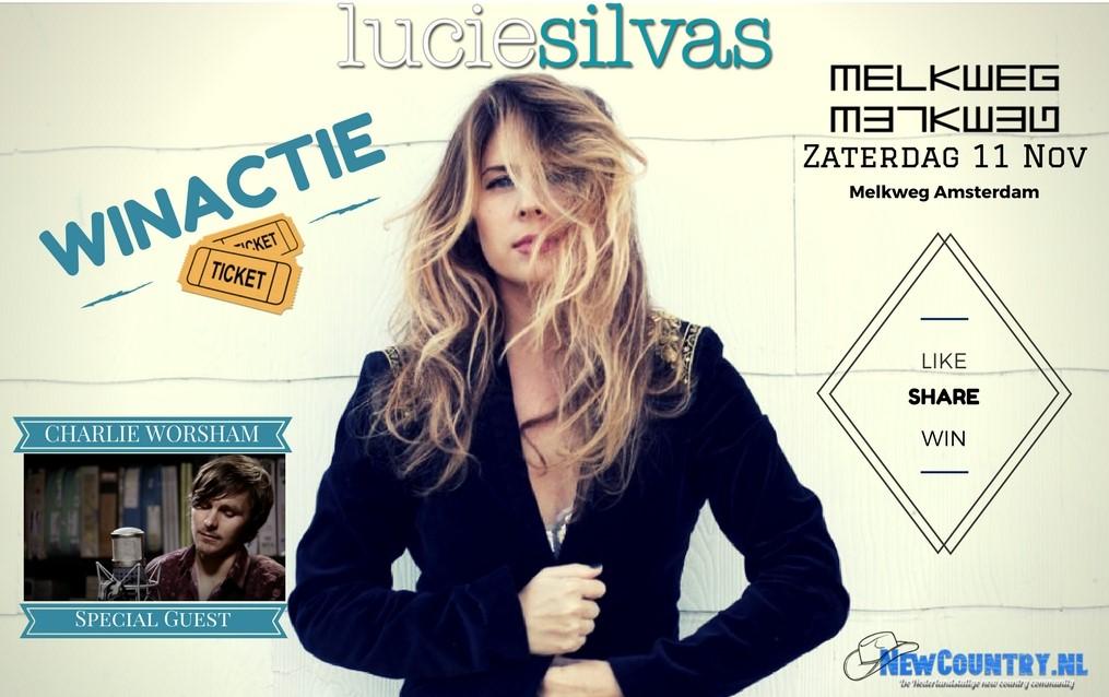 WINACTIE! win kaarten voor Lucie Silvas!