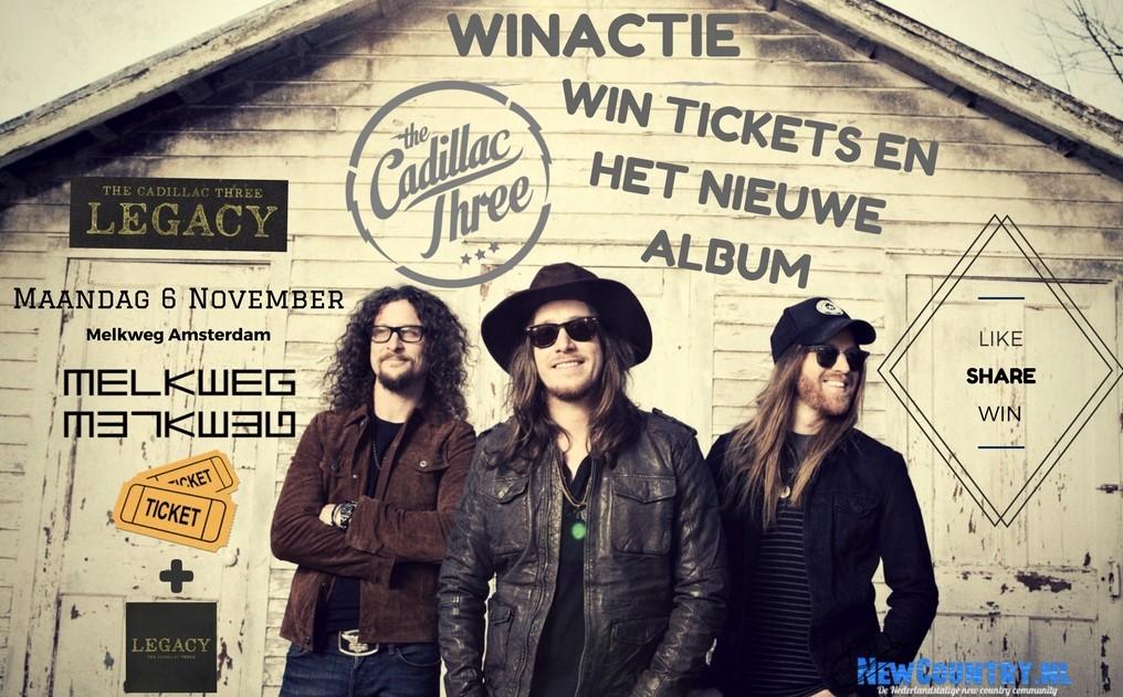 WINACTIE! win kaarten + nieuw album van The Cadillac Three!