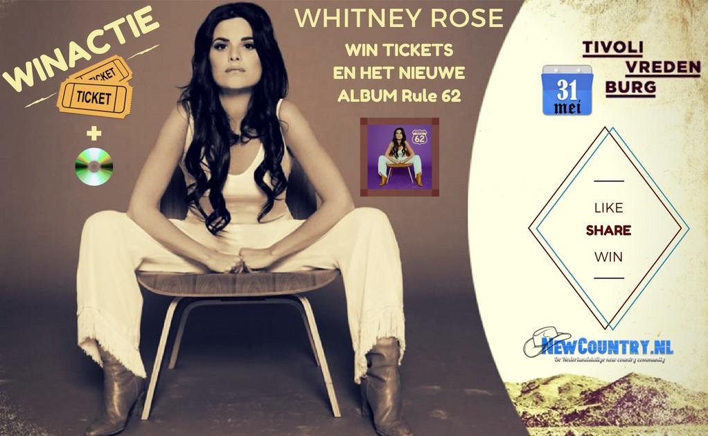 WINACTIE! win kaarten plus het nieuwe album van Whitney Rose!