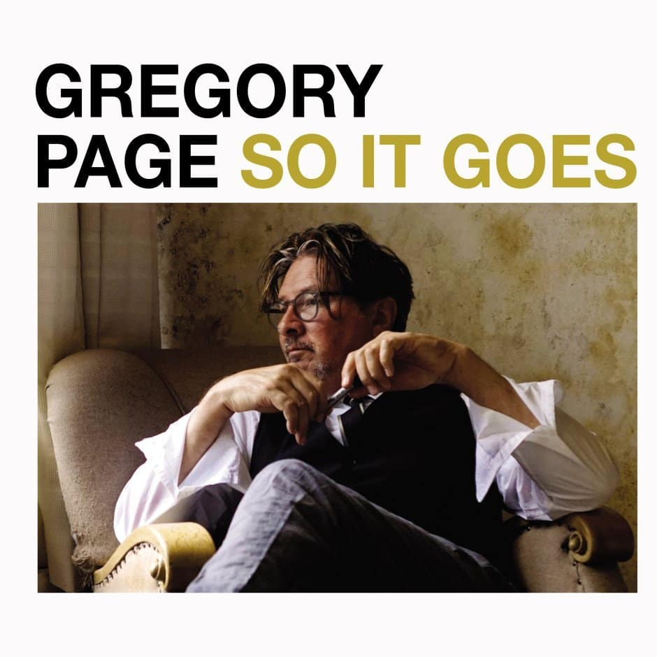 Album recensie: Gregory Page - So It Goes