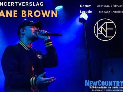 Concertverslag: Kane Brown   Melkweg Amsterdam