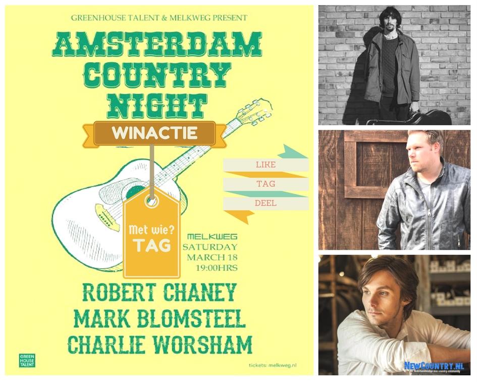 Winactie! Win kaarten voor de Amsterdam Country Night in de Melkweg Amsterdam