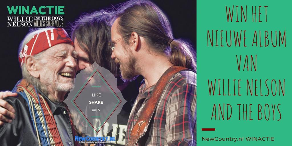 WINACTIE! win het nieuwe album van Willie Nelson And The Boys!