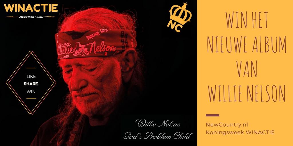 WINACTIE! win het nieuwe album van Willie Nelson!