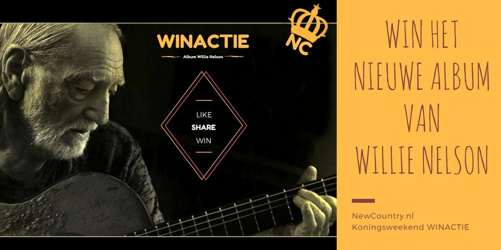 WINACTIE! win ´Last Man Standing´ het nieuwe album van Willie Nelson!