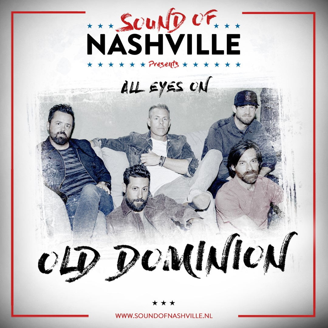 Old Dominion week bij Sound Of Nashville