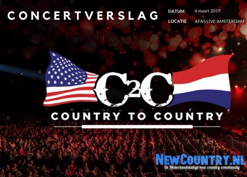Concertrecensie: C2C: Country to Country Amsterdam