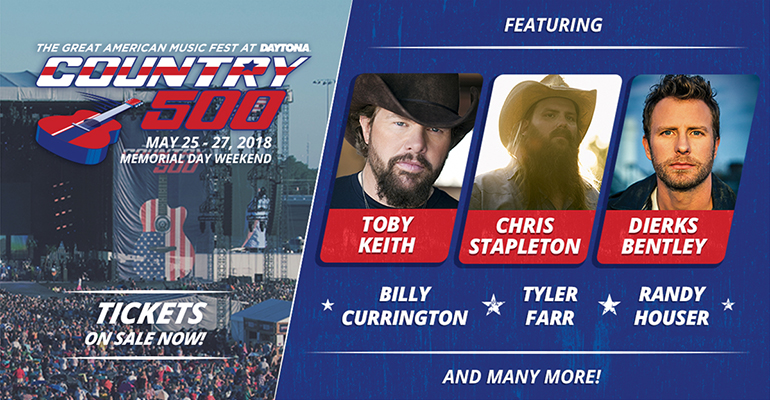 Festivalrecensie: Country500 in Daytona Beach