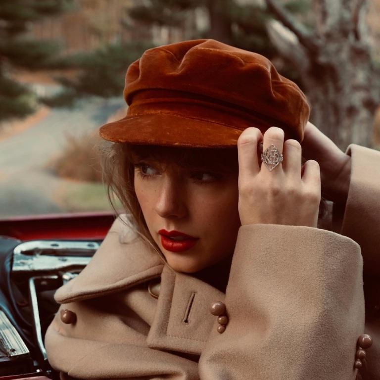 Taylor Swift maakt zich klaar voor Red (Taylor's Version)