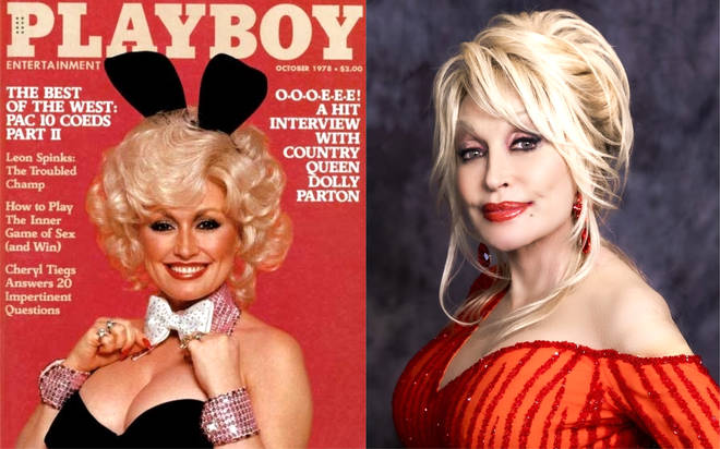 Dolly Parton weer op de cover van Playboy ?
