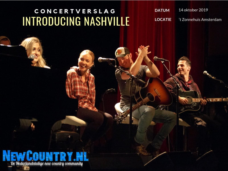 Introducing Nashville: Country hitmakers verbluffen in Het Zonnehuis