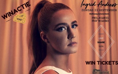 WINACTIE! win kaarten voor Ingrid Andress in de Melkweg!