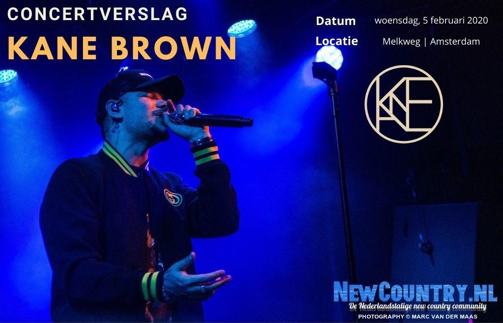 Concertverslag: Kane Brown | Melkweg Amsterdam 5 februari 2020