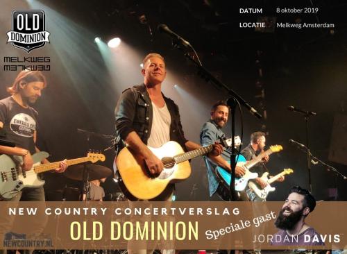 Old Dominion en Jordan Davis zetten geweldige show neer in overvol Melkweg