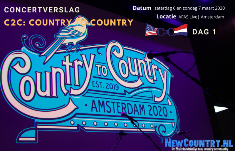 C2C: Country to Country 2020