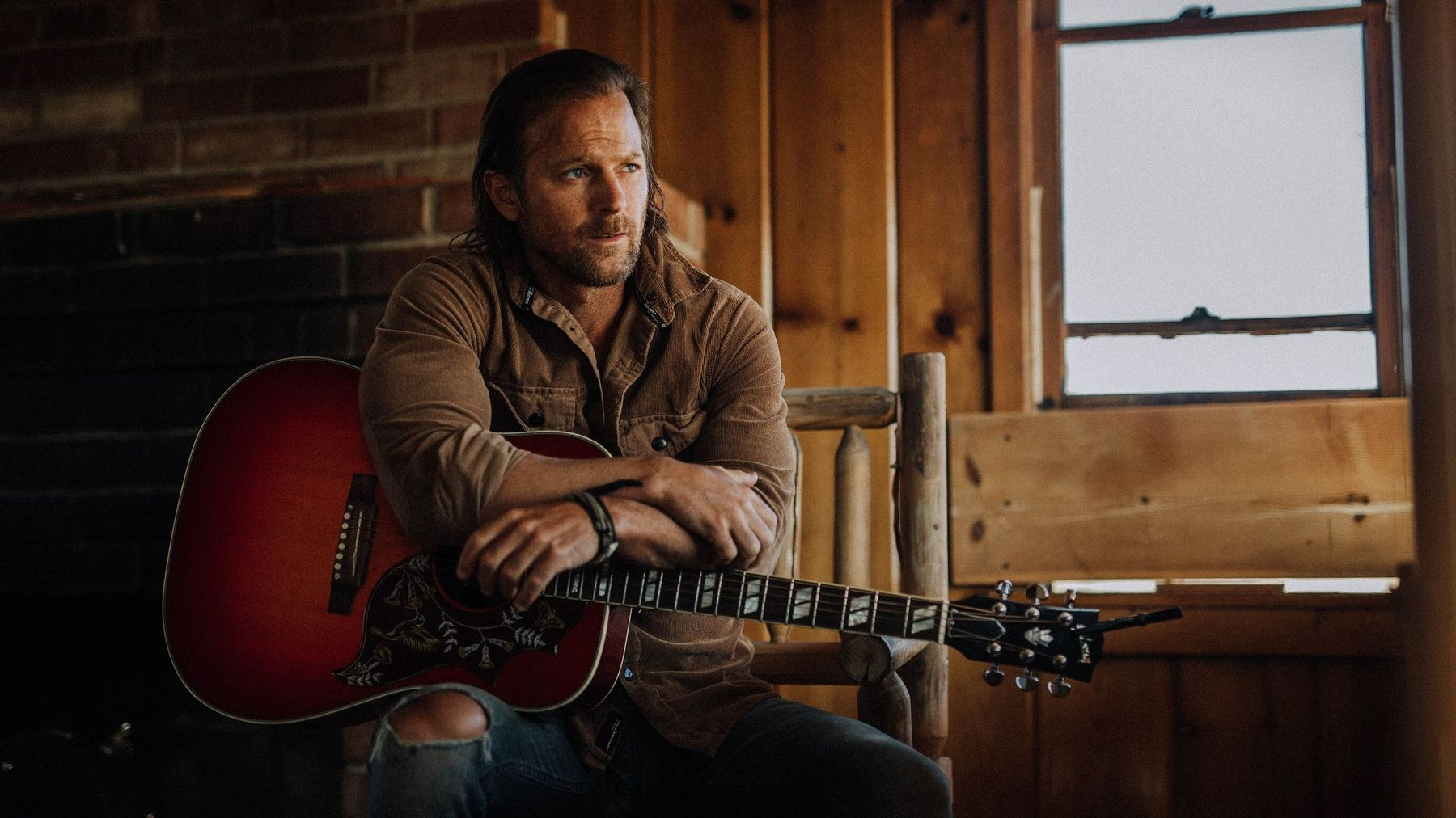 "Kip Moore in ""Don't Go Changing"""