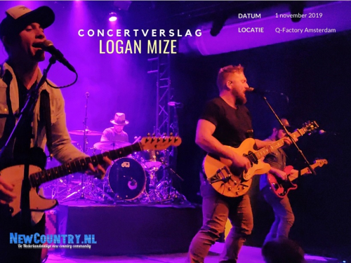 Concertverslag: Logan Mize | Q-Factory Amsterdam 1 november 2019